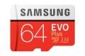 samsung mb mc64ga eu evo plus 64gb micro sdxc u3 class 10 adapter extra photo 1
