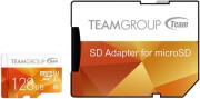 team group tcusdx128guhs42 color card series 128gb micro sdxc uhs i