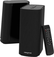 creative t100 compact hi fi 20 desktop speakers black