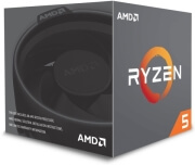 cpu amd ryzen 5 2600 390ghz 6 core with wraith stealth box photo