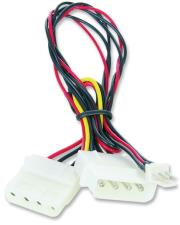 cablexpert cc psu 5 internal power adapter cable for 12v cooling fan photo