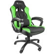 genesis nfg 0906 nitro 330 gaming chair black green photo