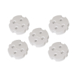 hama 47755 child safe covers for sockets with earth contact 5 pieces photo