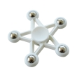 spinner five star 5 metal ball white photo