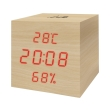 life wes 105 wooden digital indoor thermometer hyg photo