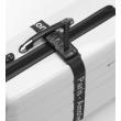 luggage matelock strap with integrated scale black photo