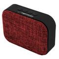 esperanza ep129r samba bluetooth speaker with fm radio red extra photo 2