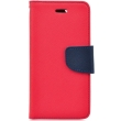 fancy book flip case for apple iphone x red navy photo