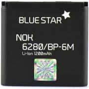 blue star battery for nokia 6280 9300 6151 n73 1200mah photo