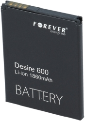 forever battery for htc desire 600 1800mah high capacity photo